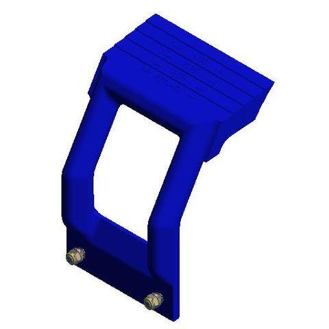 TUFF H Mono Arm Polyurethane L Ceramic Blue