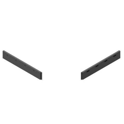 TUFF Vee Plough Torsion Blades 1200 FRAS