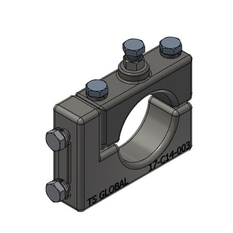 TUFF P and R Clamp Block for 73 Dia Poles