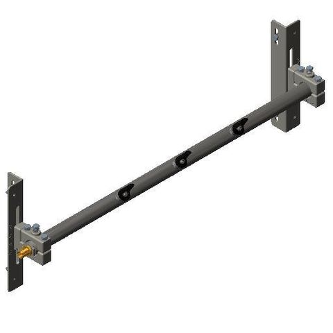 Cleaner TUFF Spray Bar 0750 1250 long x 48 Dia with P Mounts