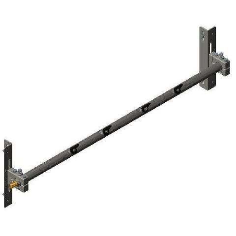 Cleaner TUFF Spray Bar 1050 1600 long x 48 Dia with P Mounts