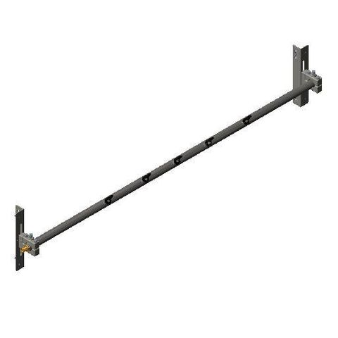 Cleaner TUFF Spray Bar 1600 2300 long x 48 Dia with P Mounts