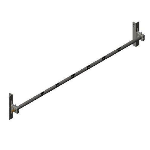 Cleaner TUFF Spray Bar 1800 2500 long x 48 Dia with P Mounts