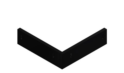 TUFF Vee Plough Blade Floating and Failsafe 0450 FRAS