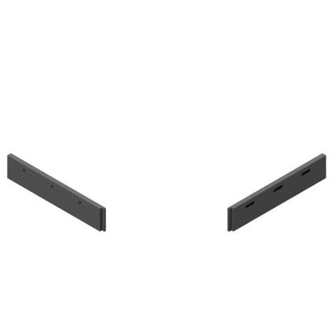 TUFF Vee Plough Torsion Blades 0900 FRAS