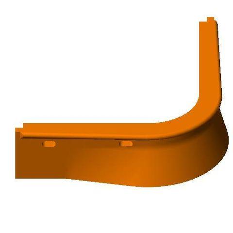 TUFF Vee Plough Torsion HD Nose Blade