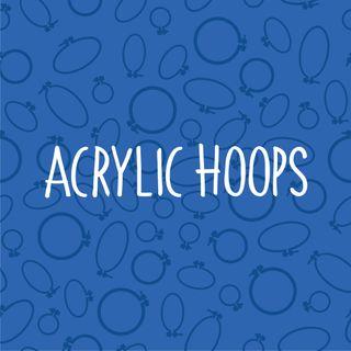 HOOPS ACRYLIC