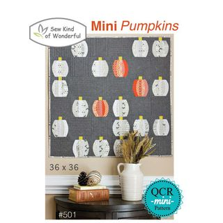 QCR PATTERN MINI PUMPKINS
