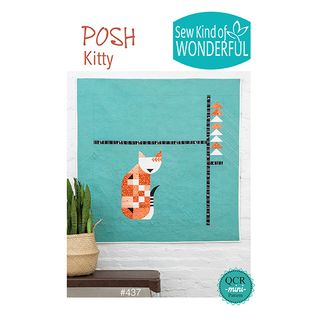 PATTERN POSH KITTEN
