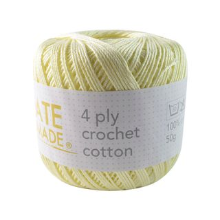 4PLY CROCHET COTTON WHEATFIELD