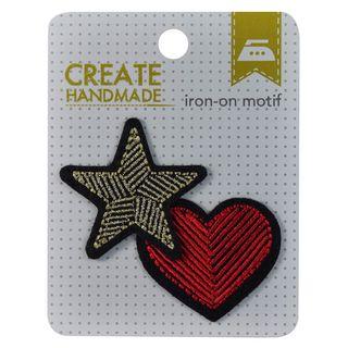 #STAR & HEART MOTIF