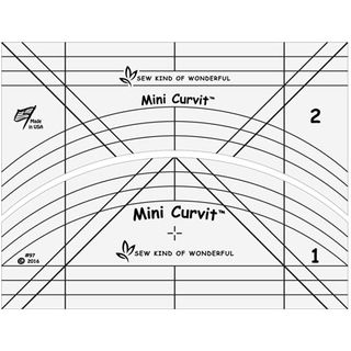 QCR MINI CURVIT RULER SET