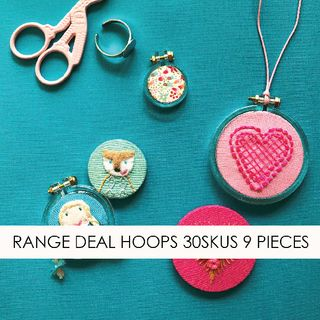 RANGE DEAL DANDELYNE HOOPS 30SKUS 9 PIECES