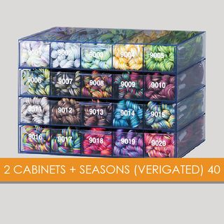 2 CABINETS + SEASONS (VERIGATED) 40