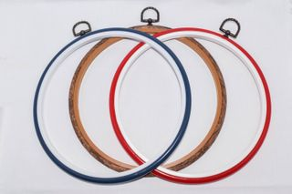 """EMBROIDERY HOOP ASSORTED LARGE 8.5"""""""