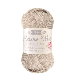 TILDA YARN DOLL HAIR BLONDE