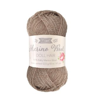 TILDA YARN DOLL HAIR ASH BLONDE