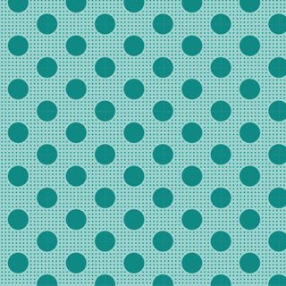 TILDA MEDIUM DOTS DARK TEAL