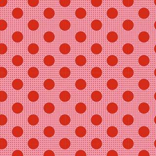 TILDA MEDIUM DOTS SALMON