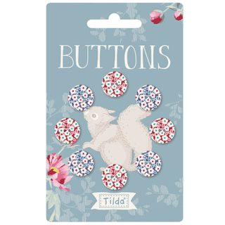TILDA WOODLAND BUTTONS 14MM