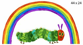 THE VERY HUNGRY CATERPILLAR: RAINBOW