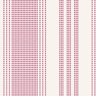 TILDA TEA TOWEL BASICS STRIPES RED
