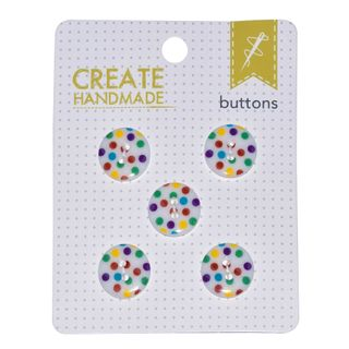 CARDED BUTTONS MULTI SPOT