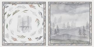 ETHEREAL FOREST PANEL