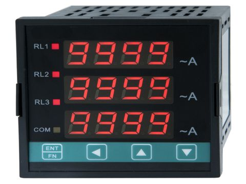 3 Phase Meter with 3 Relays