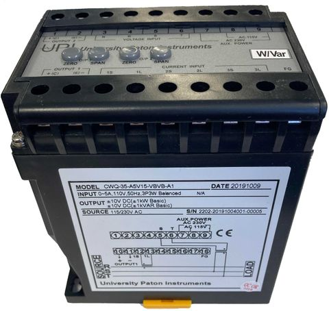 LWQ-33, 3P3W, UBL, 5A, 415V