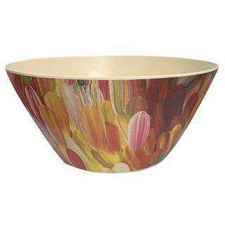 Bamboo Salad Bowl-Gloria Petyarre