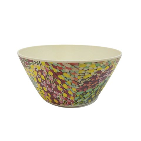 Bamboo Bowl Small-Janelle Stockman