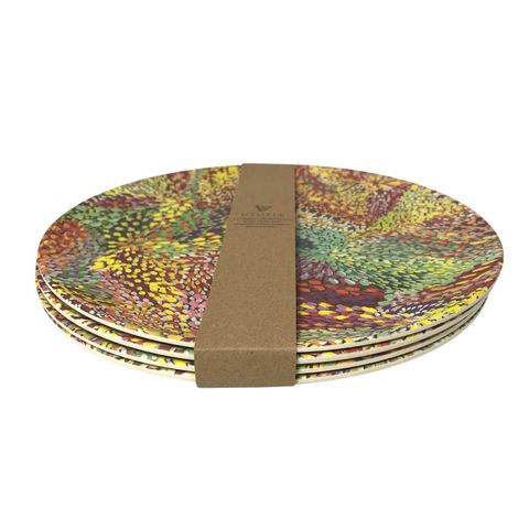 Bamboo Plate Set-Janelle Stockman