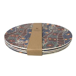 Bamboo Plate Set-Colleen Wallace