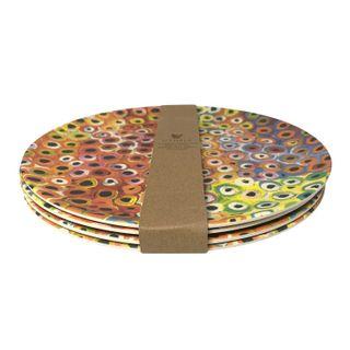 Bamboo Plate Set-Lena Pwerle