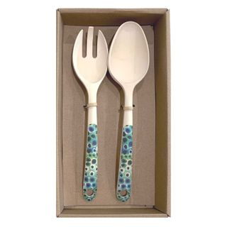 Bamboo Salad Server Set-Lena Pwerle