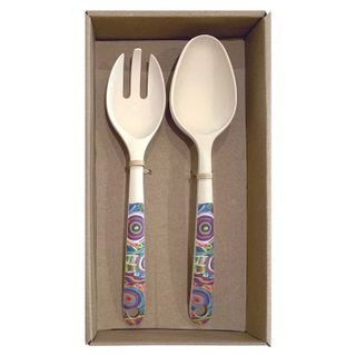 Bamboo Salad Server Set-Betty Club