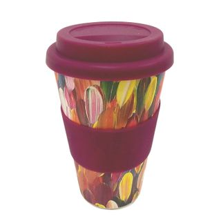 Bamboo Eco Coffee Cup - Gloria Petyarre