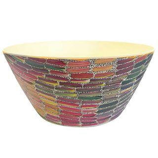 Bamboo Salad Bowl-Jeannie Mills