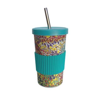 Large Tumbler Straw/Lid-Janelle Stockman