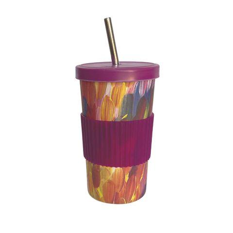 Large Tumbler Straw/Lid-Gloria Petyarre