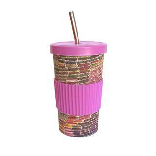 Large Tumbler Straw/Lid-Jeannie Mills