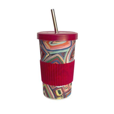 Large Tumbler Straw/Lid-Janelle Stockman