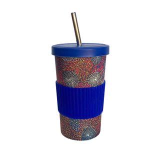 Large Tumbler Straw/Lid-Katie Morgan