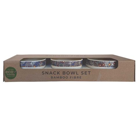 Bamboo Snack Bowl Set-Colleen Wallace