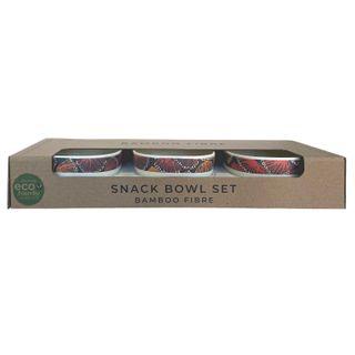 Bamboo Snack Bowl Set-Selina Teece