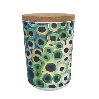 "Bamboo Food Canister 6""-Lena Pwerle"