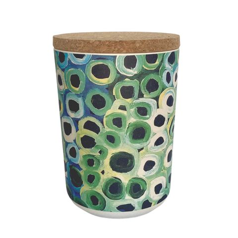 """Bamboo Food Canister 6""""-Lena Pwerle"""