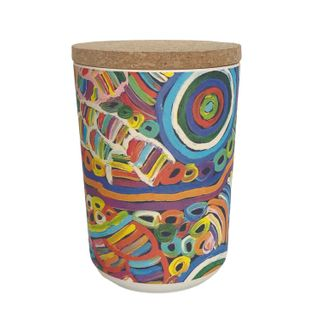 "Bamboo Food Canister 6""-Betty Club"