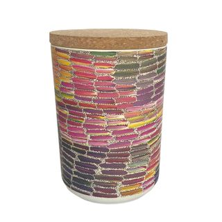 "Bamboo Food Canister 6""-Jeannie Mills"